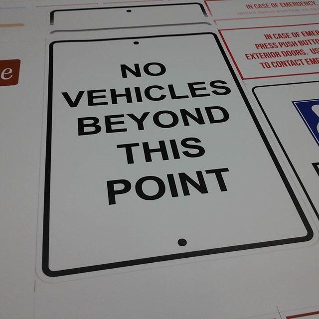 Vehicle Notice