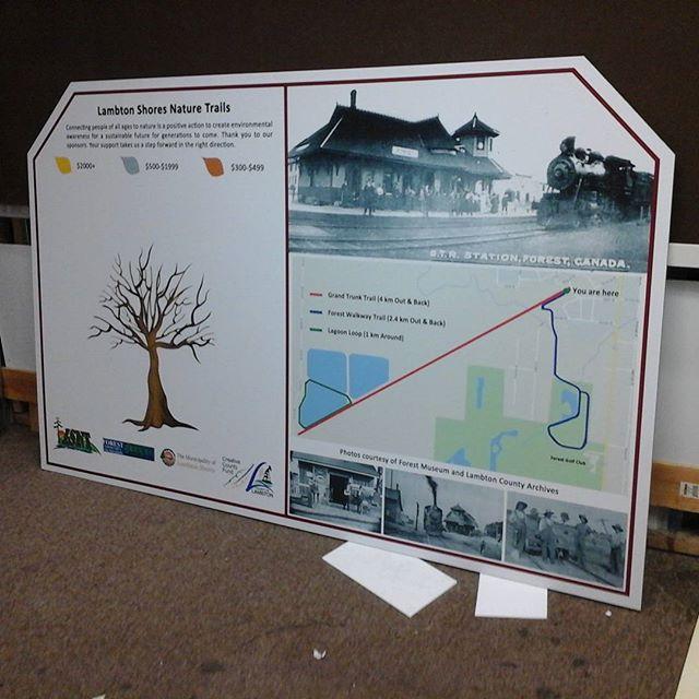 Lambton Trails Signage