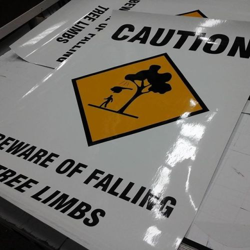 Caution Decals