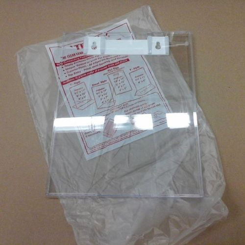 Clear Plastic Sheet Holder