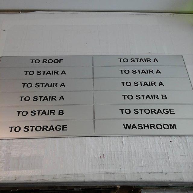 Laser door plates #6