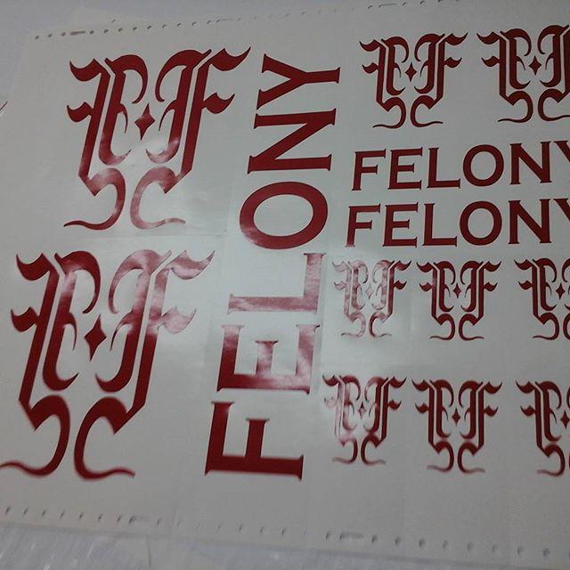 Vinyl Cut Letters