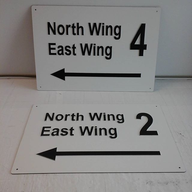 Lasered raised lettering
