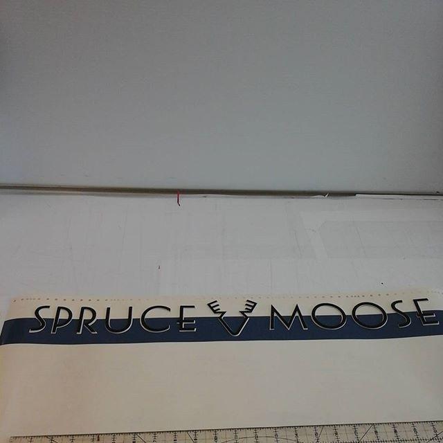 Laser cut letters & vinyl template