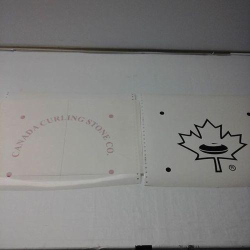 Vinyl cut logo