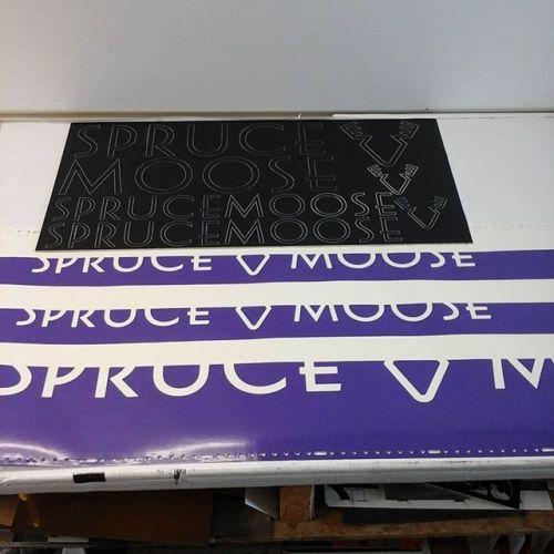 Laser cut letters & template