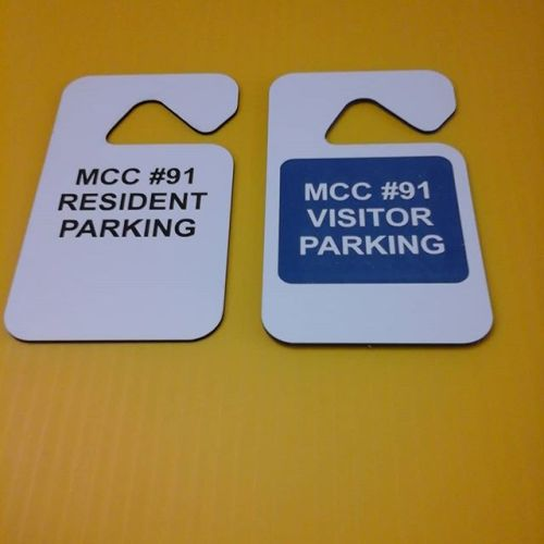 Lasered mirror tags