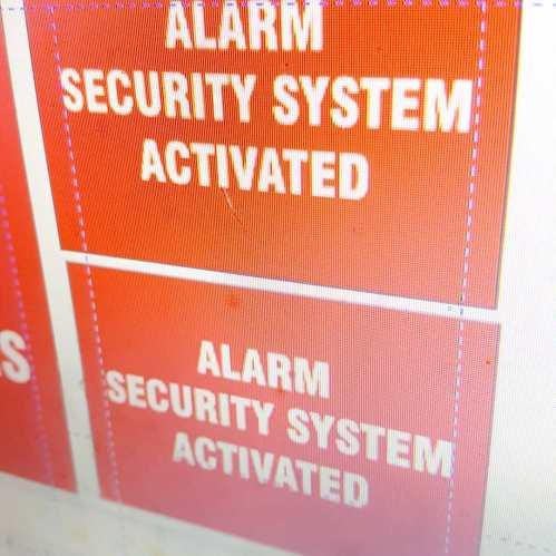 Alarm Signs