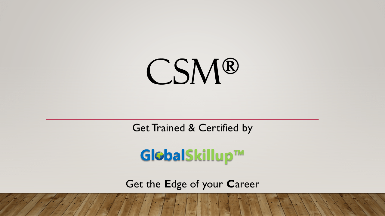 Csm classroom training in kolkata by globalskillup csm certified scrum master xflitez Image collections