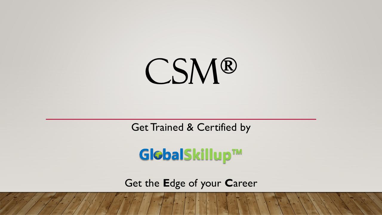 Csm classroom training in kolkata by globalskillup csm certified scrum master xflitez Gallery