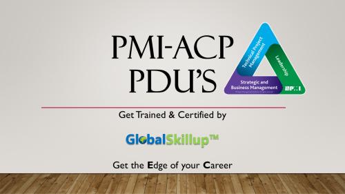 PMI-ACP PDU
