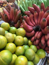 Maqueña Rojo (Red Bananas) & Oranges