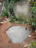 Finished septic tank 2