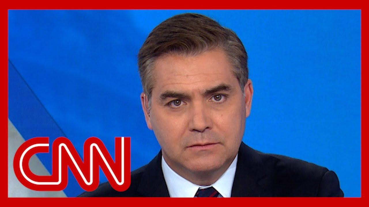 Acosta. Chokes up reflecting on 9/11