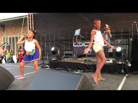African dance battle as worlds youngest famous DJ Hits the decks