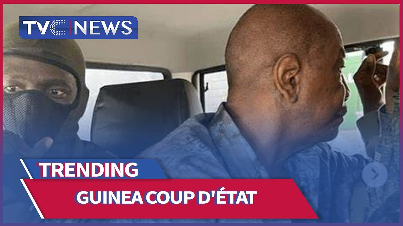 Military junta detains guinea president