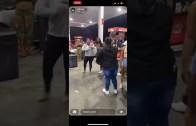 Huge brawl