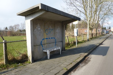 Wild Benches adding to bus stops