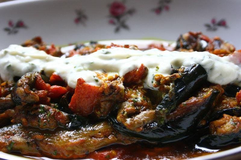 Spicy Braised Eggplant | Burani Bonjon