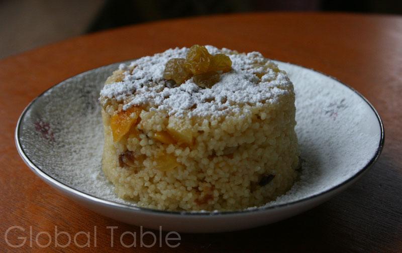 Bil Zbib Sweet Couscous