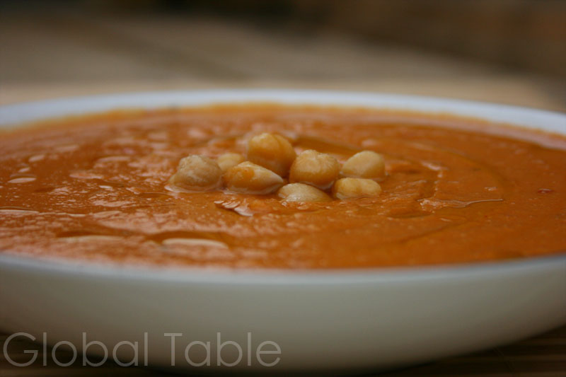 Algerian Chickpea Soup | Hummus bi'l Kammun