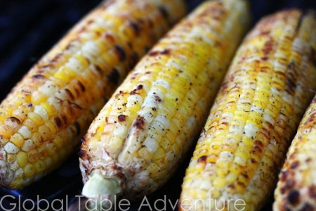 Coconut Grilled Corn from Cambodia | 21 of the World's best grilled eats.