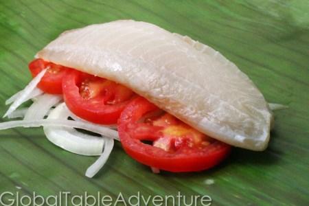 Fish with Banana Leaves | Liboke de Poisson | Global Table Adventure