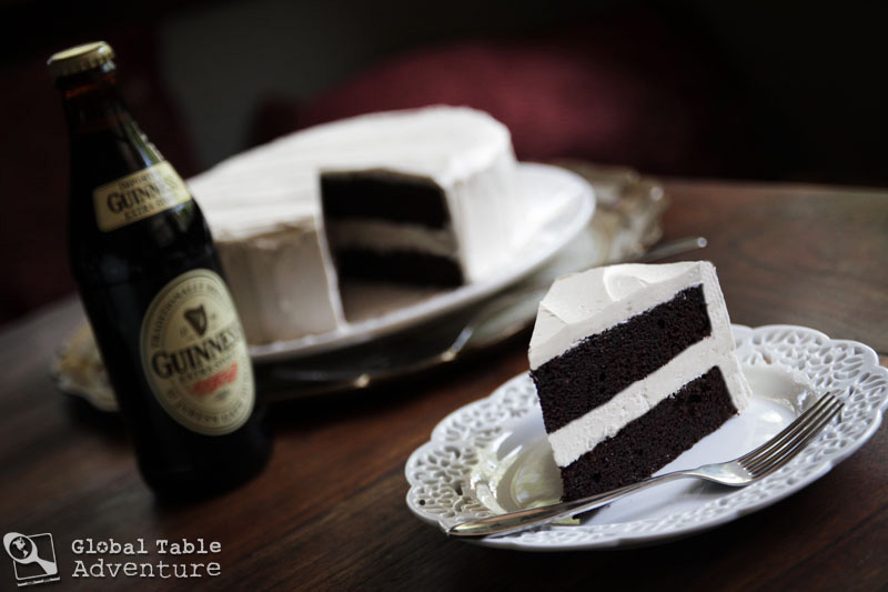 Dark Chocolate Guinness Cake With Bailey S Buttercream