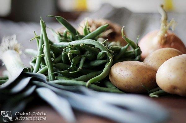 Green Bean Soup | Bouneschlupp | Global Table Adventure