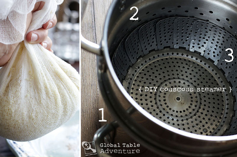 Rainy Day Steamed Couscous | Global Table Adventure