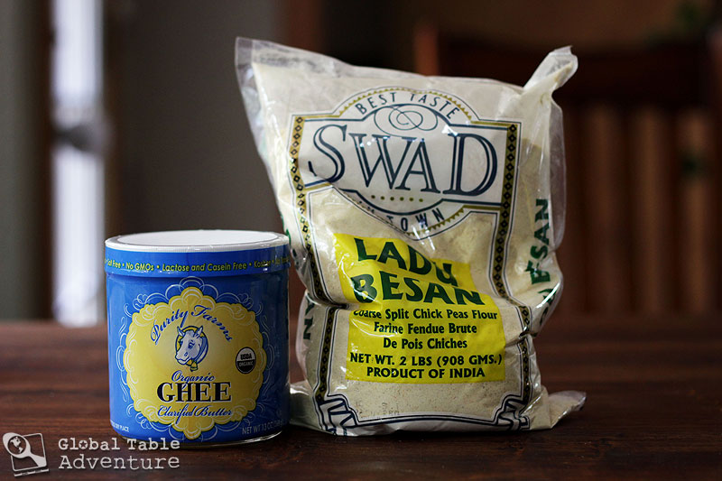 "Crystal Crunch ""Fudge"" | Besan Burfi | Global Table Adventure"