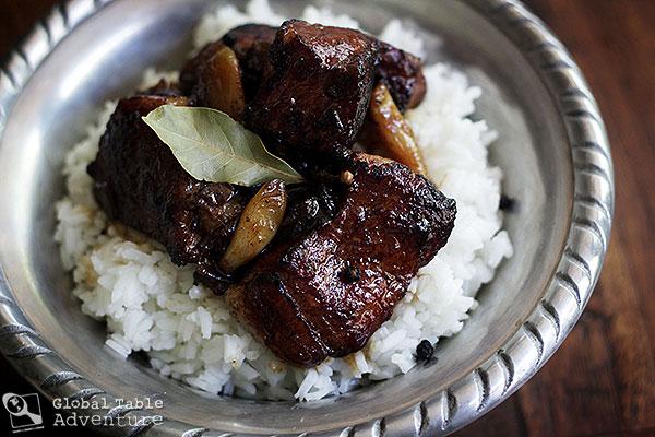 Sizzling pork adobo recipe