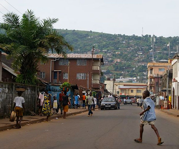 Freetown, Sierra Leone.
