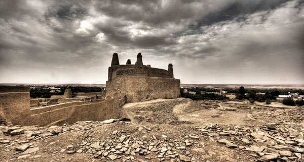 Mard castle in Saudi Arabia. Photo by Nora Ali.
