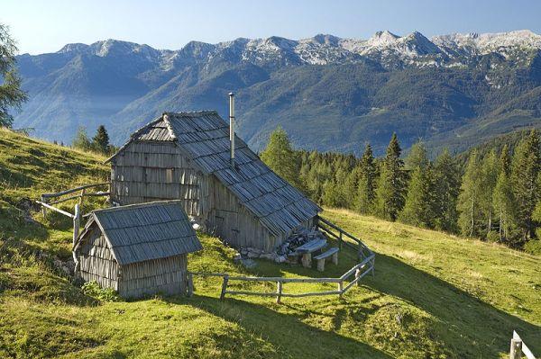 Bohinj Mountains, Slovenia. Photo by Grega Nered.