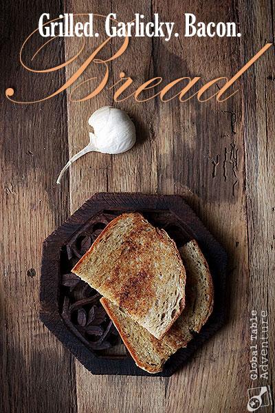 slovakian-hrianka-bacon-garlic-bread