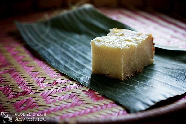 Solomon Islands Cassava Pudding