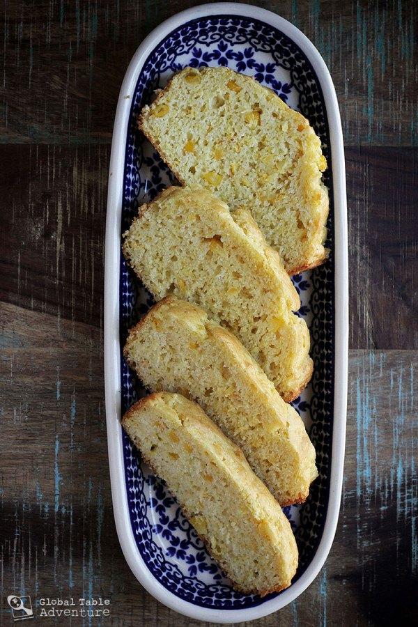 Mealie Bread Recipe from Swaziland