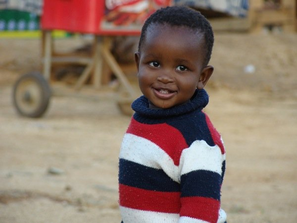 Swazi Boy. Photo by Jenny M. Buccos.