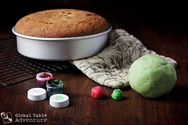 How to decorate a Swedish Princess Cake | Prinsesstårta