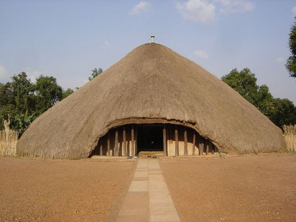 The Kasubi Tombs in Kampala, Uganda. Photo by notphilatall.