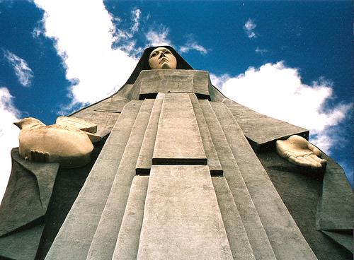 Virgen de la Paz in Trujillo, Venezuela. Photo by Photocapy.