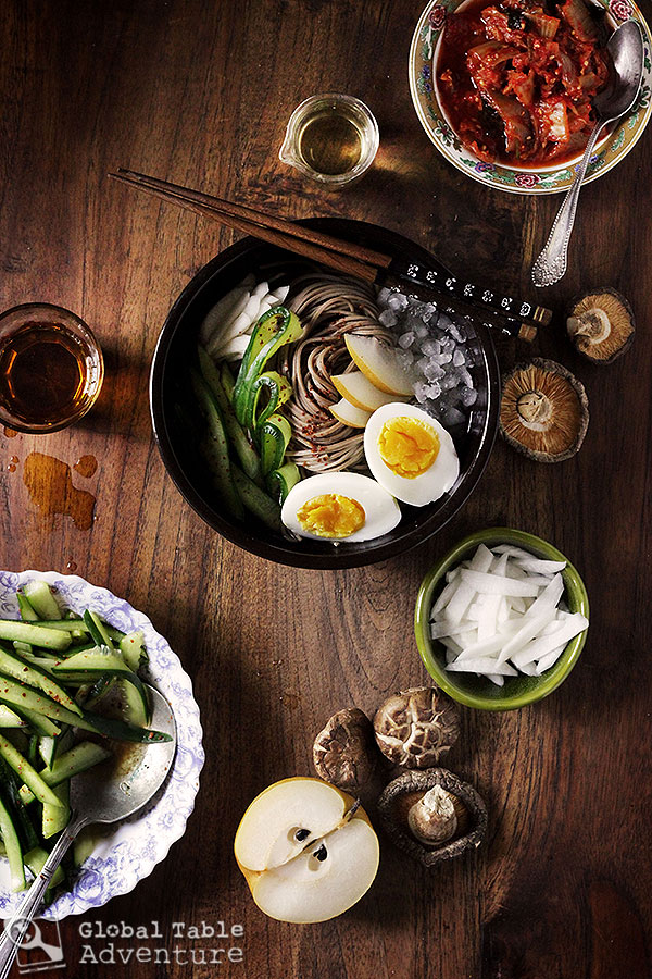 Iced Korean Buckwheat Noodles | Mul-naengmyeon