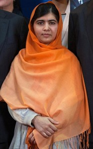 Malala Yousafzai. Photo by Claude Truong (2013)