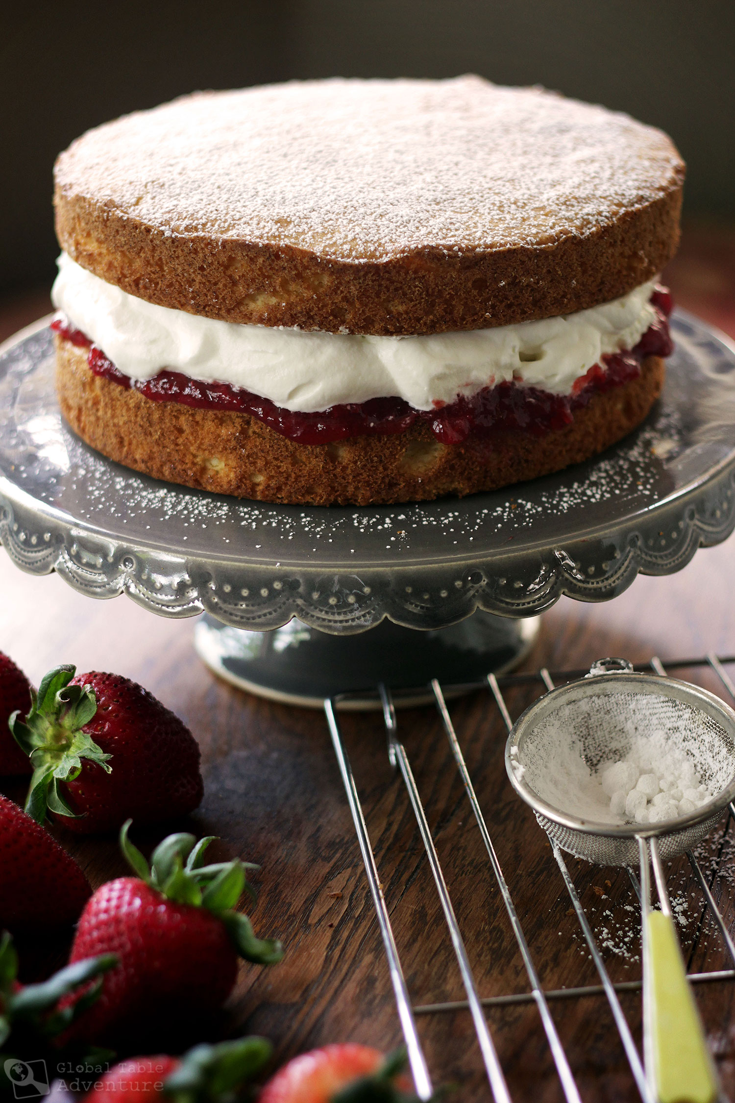 Instructions Of How To Make A Victoria Sponge Cake