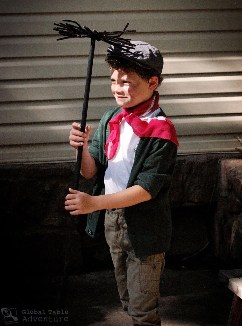 Mary Poppins Birthday Party: Chimney Sweet Costume