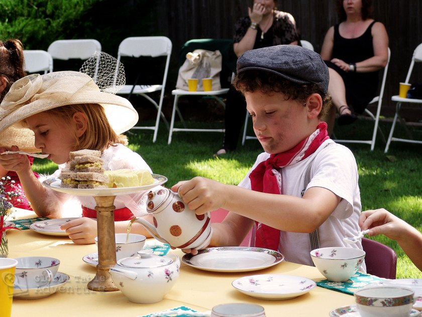 Mary Poppins Birthday Party: Authentic Menu