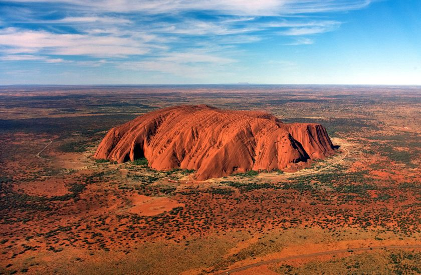 Uluru by Corey Leopold.