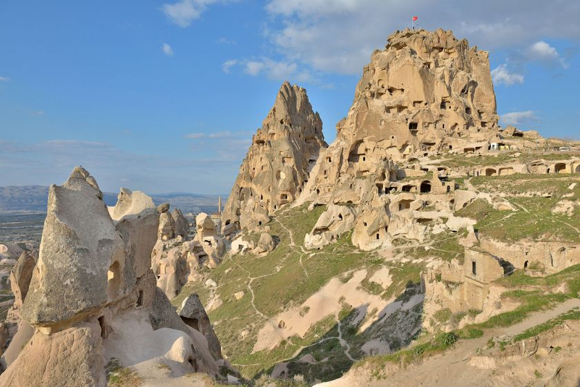 """Castle"" Uçhisar in Cappadocia, Turkey, by Wolfgang Moroder."