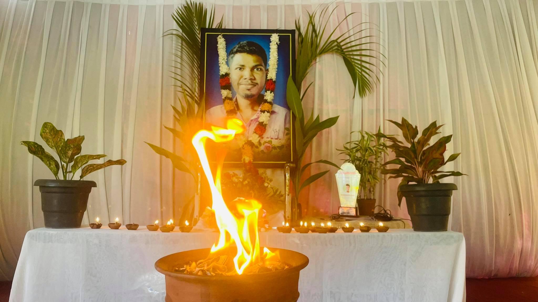 மறைந்த சுயாதீன ஊடகவியலாளர் ஞா. பிரகாஸின் 45ஆம் நாள் நினைவு நாள்